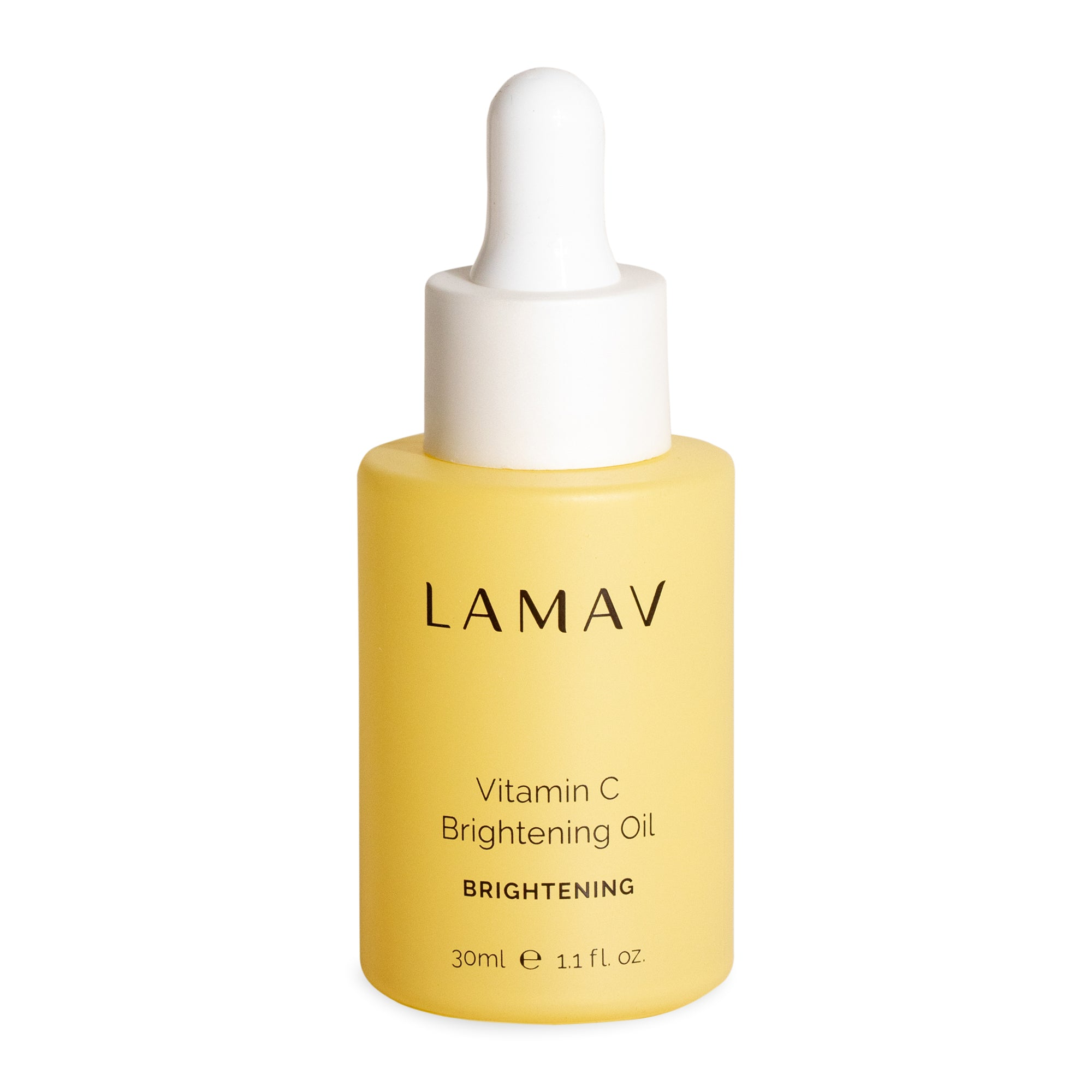 LaMav Vitamin C Brightening Oil. Phytonutrient rich superior brightening oil to promote evenly toned and radiant skin. Shop at Skinbase Beauty.