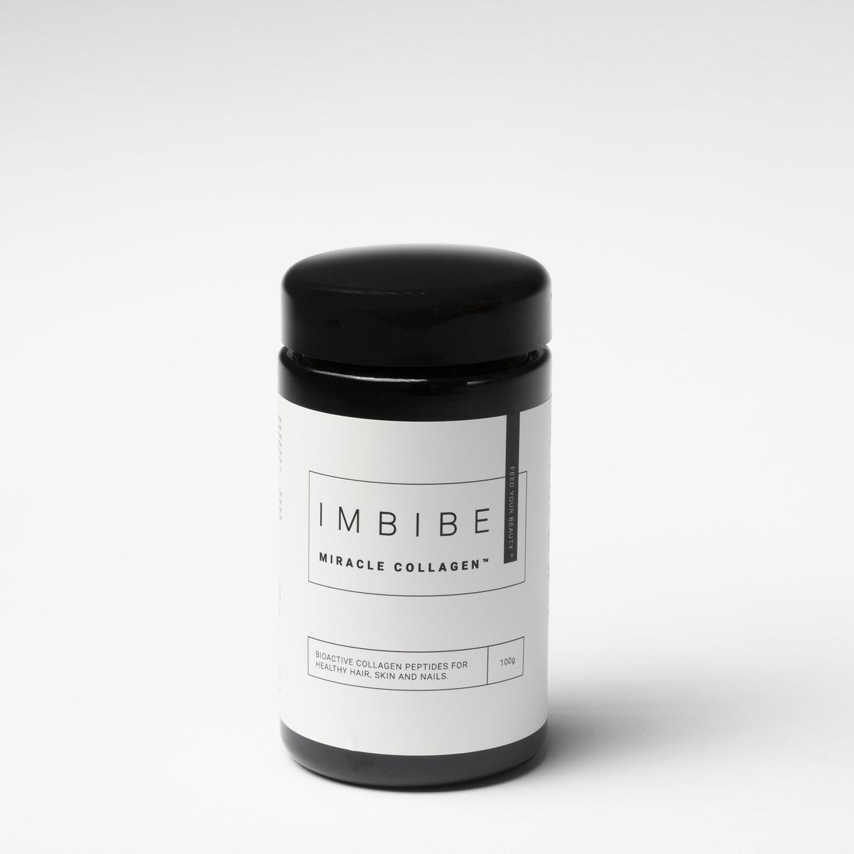 Imbibe Miracle Collagen is formulated with bioactive peptides to boost elasticity and hydration for plump and glowing skin. Official Imbibe stockist. Afterpay.