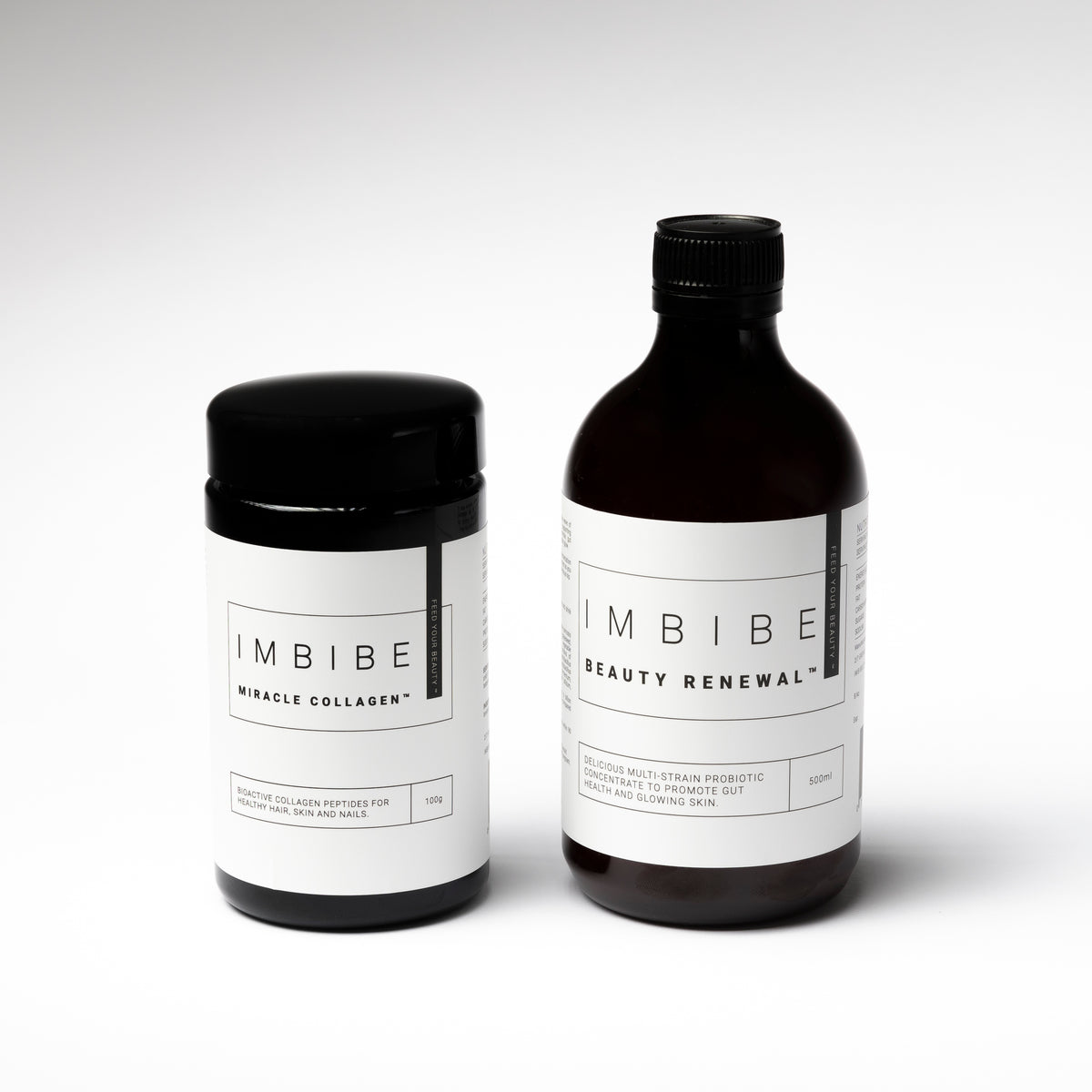 Shop Imbibe The Essential Duo at Skinbase Beauty. Duo includes: Beauty Renewal and Miracle Collagen.