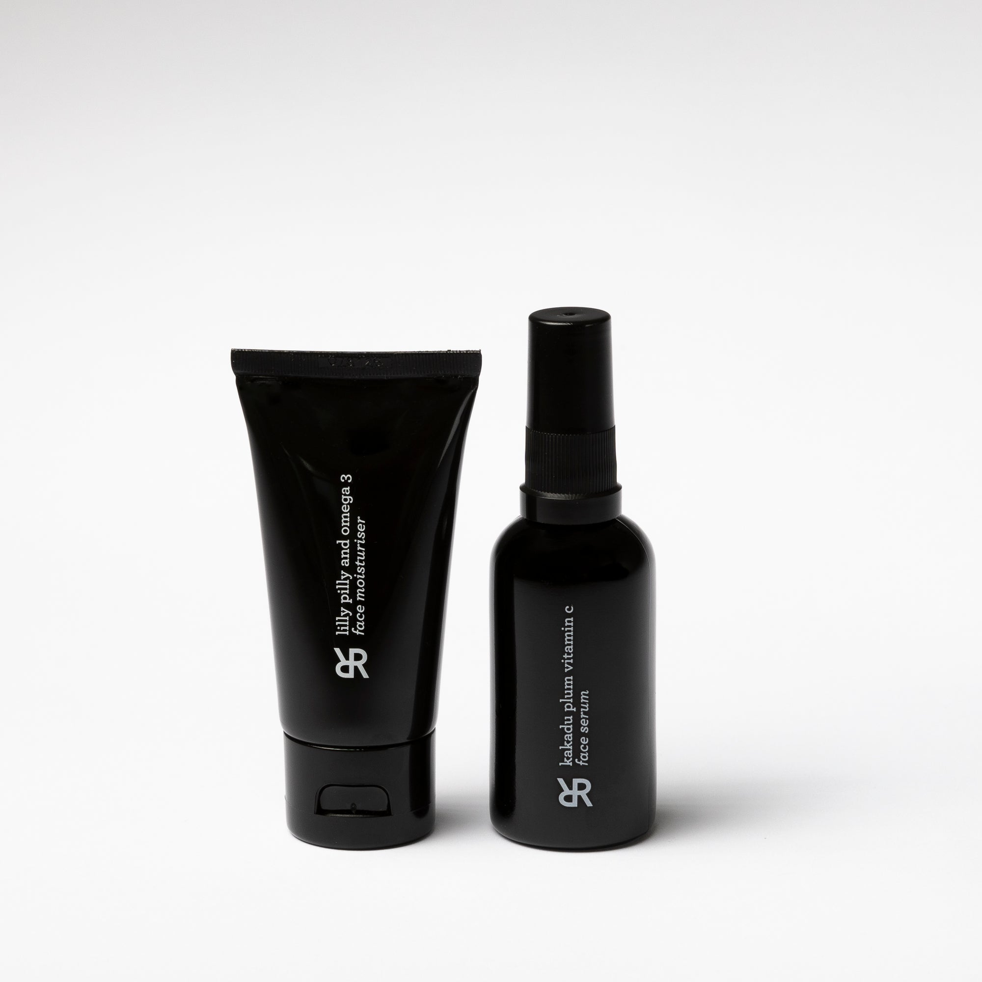 Our two best-sellers in a cost-saving duo set. Paired together to brighten, hydrate and protect the skin. Official Rohr Remedy stockist. Shop with Afterpay.