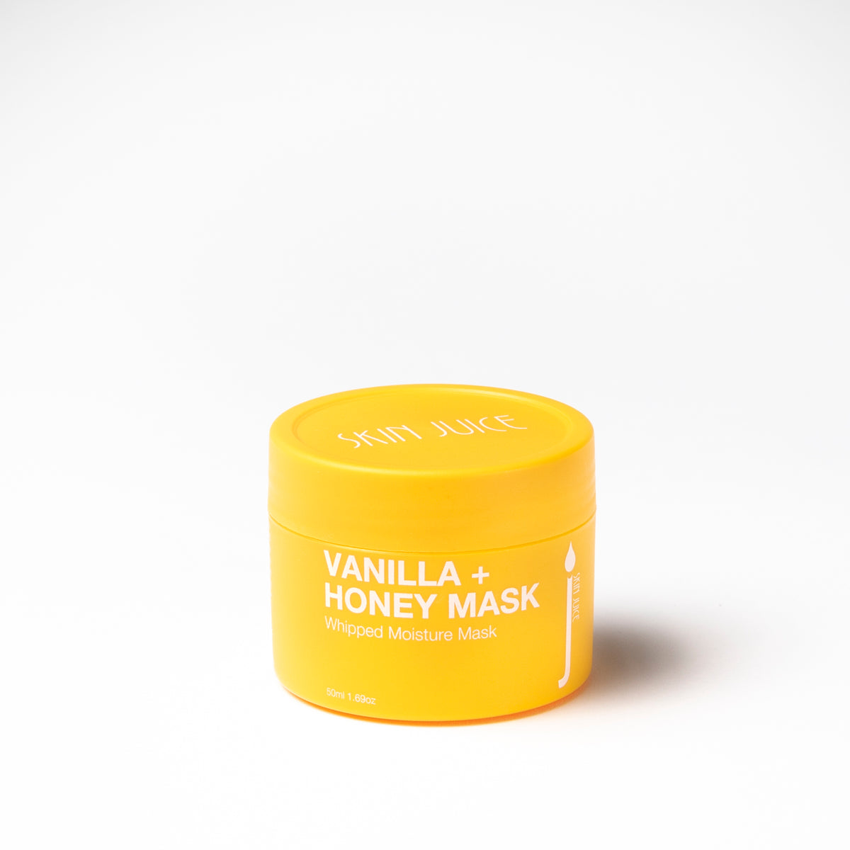 Skin Juice Vanilla and Honey Mask 50ml. Organic and cosmeceutical grade skincare. Available at Skinbase Beauty