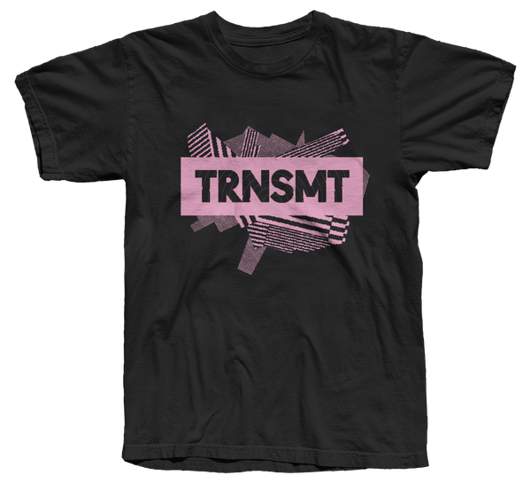 TRNSMT 2018 SUN 8 JULY DAY EVENT T-SHIRT (BLACK)