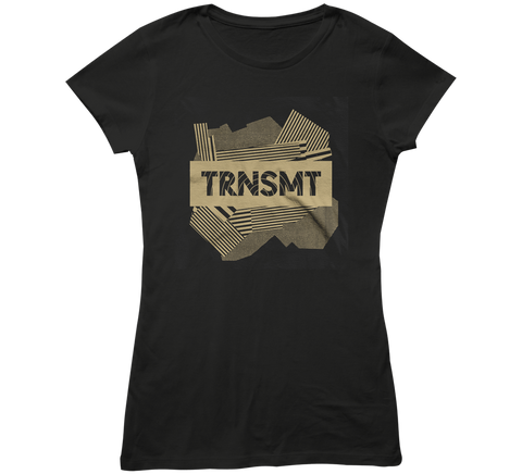 TRNSMT 2018 FRI 6 JULY DAY EVENT LADIES T-SHIRT (BLACK)