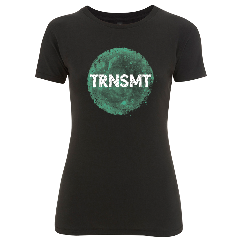 'TRNSMT 2017 Friday Event' Ladies Black T-Shirt