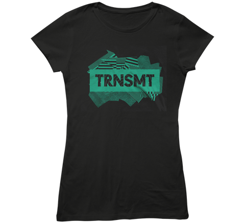 TRNSMT 2018 FRI 29 JUNE DAY EVENT LADIES T-SHIRT (BLACK)