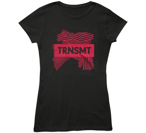 TRNSMT 2018 SUN 1 JULY DAY EVENT LADIES T-SHIRT (BLACK)