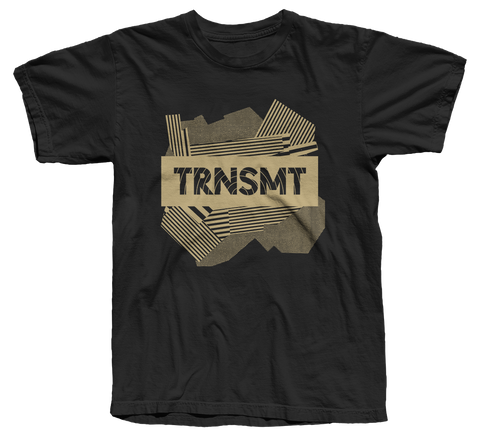 TRNSMT 2018 FRI 6 JULY DAY EVENT T-SHIRT (BLACK)