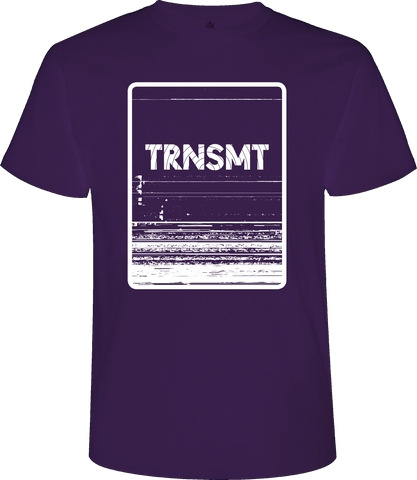 'TRNSMT 2017 Sunday Event' Men's Purple T-Shirt
