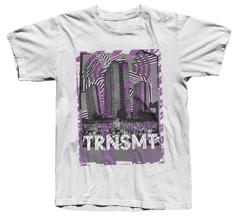 TRNSMT 2018 SKYLINE T-SHIRT (WHITE)