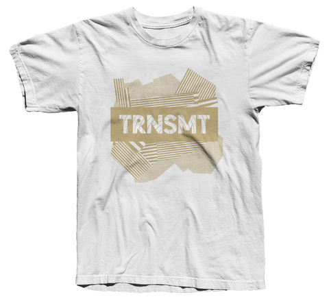 TRNSMT 2018 FRI 6 JULY DAY EVENT T-SHIRT (WHITE)