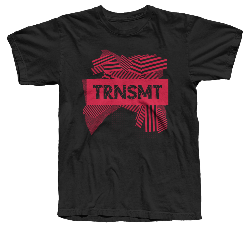 TRNSMT 2018 SUN 1 JULY DAY EVENT T-SHIRT (BLACK)