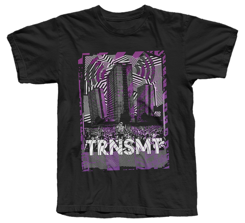 TRNSMT 2018 SKYLINE T-SHIRT (BLACK)