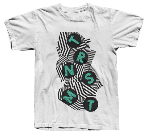 TRNSMT 2018 DESCENDING T-SHIRT (WHITE)