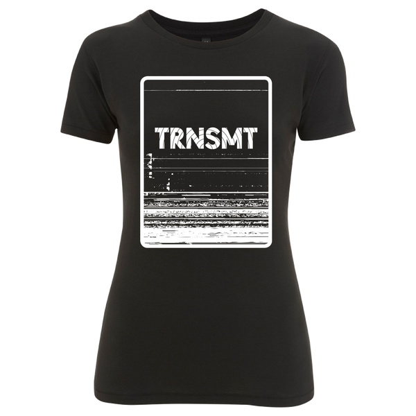 'TRNSMT 2017 Sunday Event' Ladies Black T-Shirt