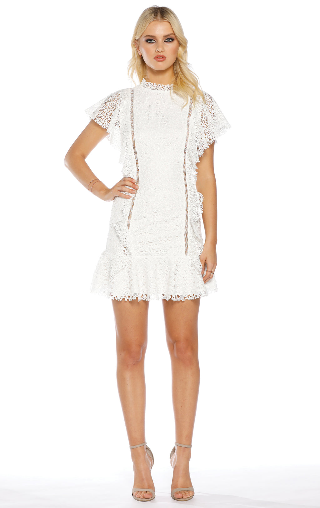 Whimsy Ruffle Dress