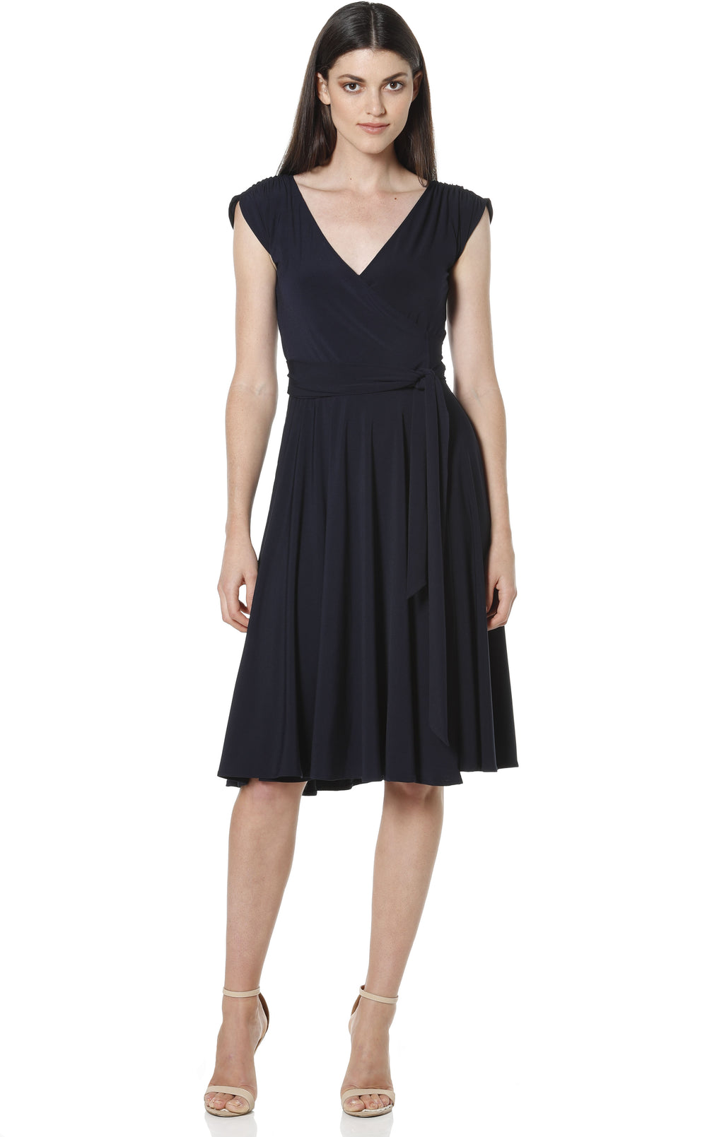 Wrap Dress - Navy