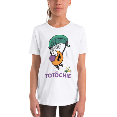 Youth Short Sleeve T-Shirt - Totochie Flying