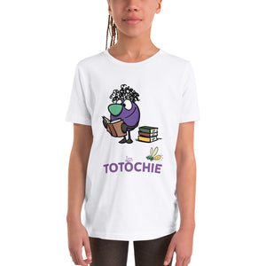Youth Short Sleeve T-Shirt - Totochie Reading