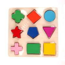 Kids 3D Wooden Shapes Puzzle