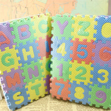 36pcs/Set Kids Alphabet Foam Tiles