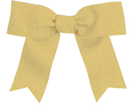 Chassé® Hair Bow: Cheerleading team bow