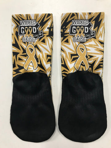 Hoopswagg Socks - Vegas Gold