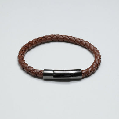 DURANTE BROWN LEATHER BRACELET