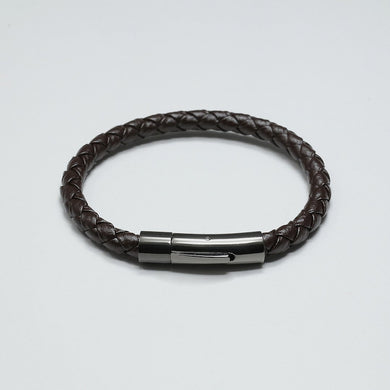 DURANTE COFFEE LEATHER BRACELET