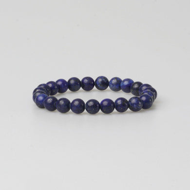 FIRENZE BLUE STONE BRACELET - Stefan Severin Leather Accessories