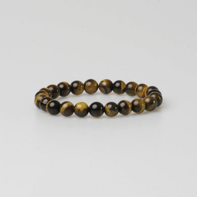 FIRENZE BROWN STONE BRACELET - Stefan Severin Leather Accessories