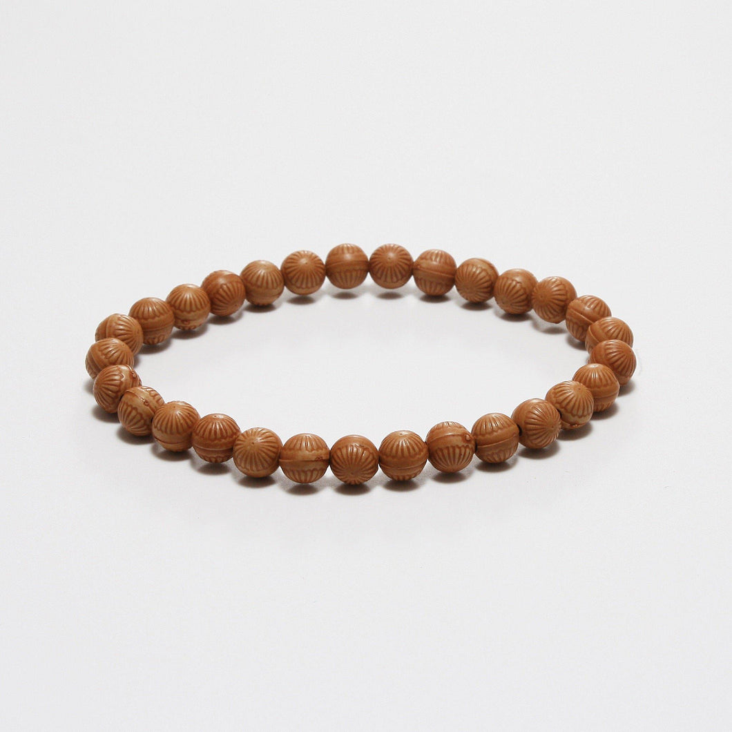 GRANO WOOD 5 BRACELET - Stefan Severin Leather Accessories