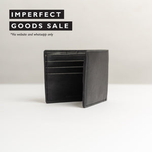 Adamo Mens Bifold Wallet / Dompet Pria - Imperfect Goods Sale