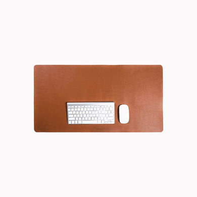 MASSIMO HAZEL DESK PAD - Stefan Severin Leather Accessories