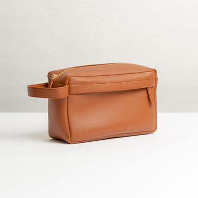 Dopp Kit Bag Rocco Brown - Stefan Severin Everyday Lifestyle Goods
