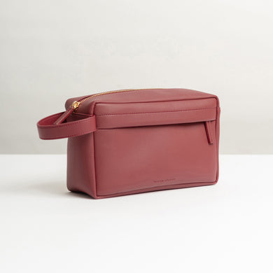 Dopp Kit Bag Rocco Maroon - Stefan Severin Everyday Lifestyle Goods