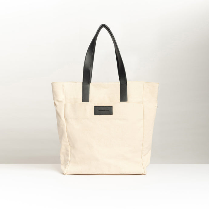 Tote Bag Canvas Torre Black - Stefan Severin Everyday Lifestyle Goods