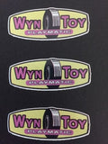 Wyn Toy Stickers Sheet of 10