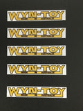 Wyn Toy Stickers Decals Boomaroo Stickers Decals Collectable Vintage Toy Sticker