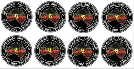 Aboriginal and Proud Sheet Vinyl Stickers - Jdl Stickers and Stuff