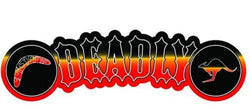 Deadly Boomerang Kangaroo Vinyl Car Sticker - Jdl Stickers and Stuff