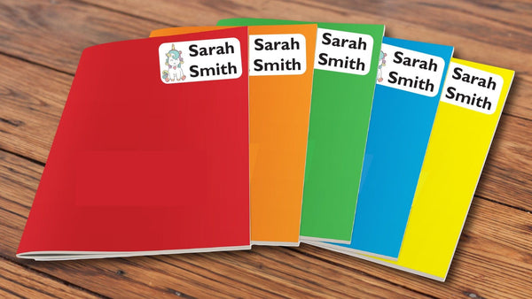 40 Customised Book Labels