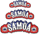 Samoa Flag with Coat of Arms