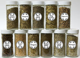 120 Spice Labels Leaves