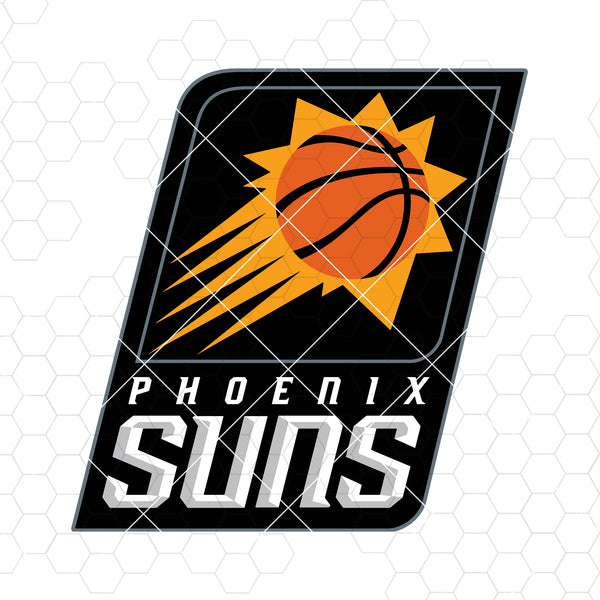 Phoenix Suns Digital Cut Files Svg, Dxf, Eps, Png, Cricut Vector, Digital Cut Files Download