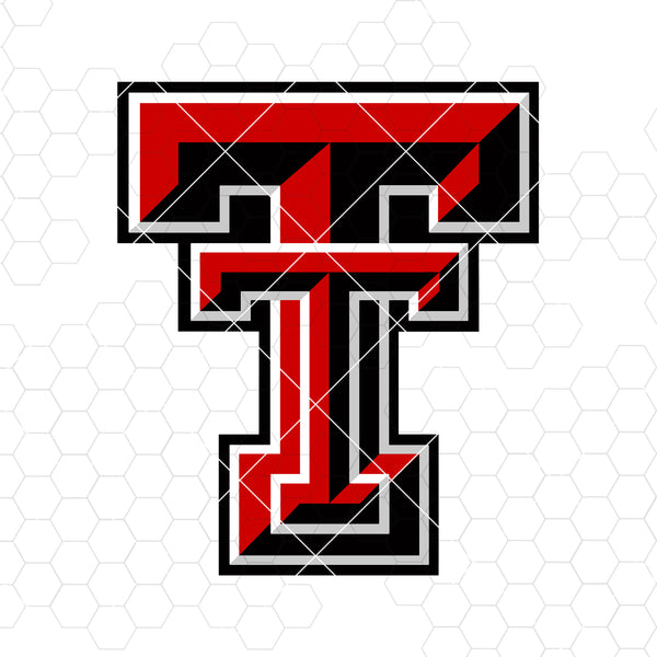 Texas Tech Digital Cut Files Svg, Dxf, Eps, Png, Cricut Vector, Digital Cut Files Download