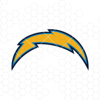 Los Angeles Chargers Digital Cut Files Svg, Dxf, Eps, Png, Cricut Vector, Digital Cut Files Download