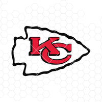 Kansas City Chiefs Digital Cut Files Svg, Dxf, Eps, Png, Cricut Vector, Digital Cut Files Download