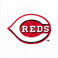 Cincinnati Reds Digital Cut Files Svg, Dxf, Eps, Png, Cricut Vector, Digital Cut Files Download