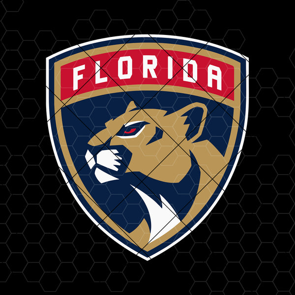 Florida Panthers Digital Cut Files Svg, Dxf, Eps, Png, Cricut Vector, Digital Cut Files Download