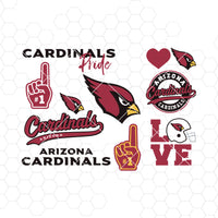 Arizona Cardinals SVG, Arizona Cardinals files, cardinals logo, silhouette cameo, cricut, cut file, digital clipart, layers, png dxf ai
